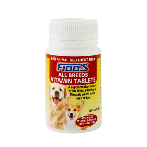 Fido's All Breed Vitamin Tablets 1
