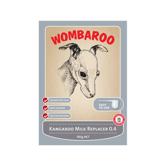 Wombaroo Kangaroo Milk Replacer 0.4 180g 1