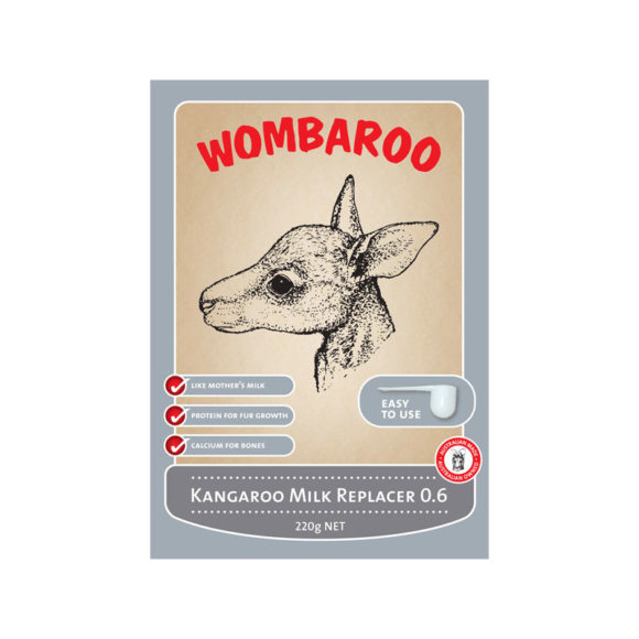 Wombaroo Kangaroo Milk Replacer 0.6 1.1kg 1