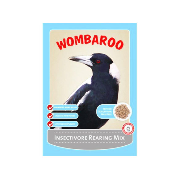 Wombaroo Insectivore Rearing Mix 250g 1
