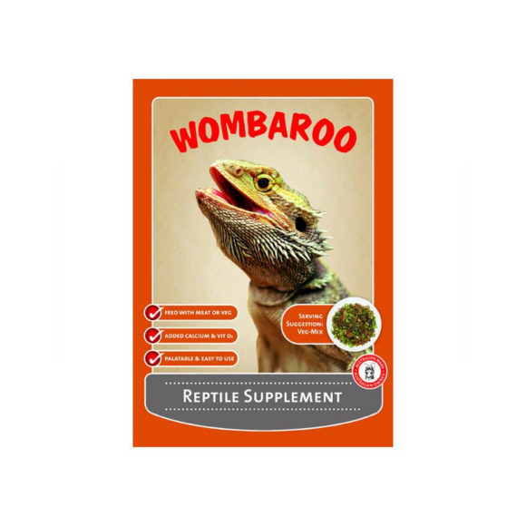 Wombaroo Reptile Supplement 250g 1